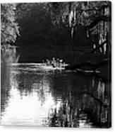 Reflections On The Withlacoochee Canvas Print