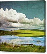 Reflections On Watership Down Canvas Print