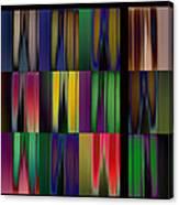Reflective Blurs Canvas Print