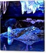 Reflective Cavern Canvas Print