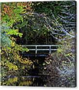 Reflective Fall Canvas Print