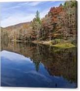 Reflection On Lake Winfield Scott 2 Canvas Print