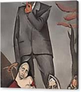 Refugees Canvas Print