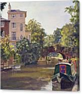 Regent S Park Canal Canvas Print