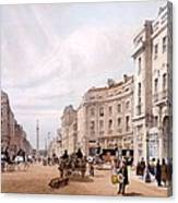 Regent Street, Looking Towards The Duke Canvas Print