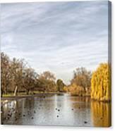 Regents Park London Canvas Print
