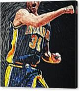Reggie Miller Canvas Print