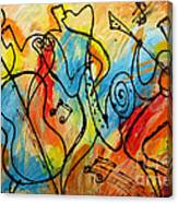 Regtime 2 Canvas Print