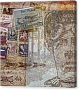Regular Mail By Air Canvas Print