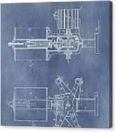Regulator For Dynamo Electric Machine Patent Canvas Print