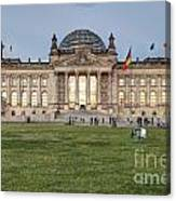 Reichstag Berlin Germany Canvas Print