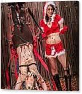 Reindeer Slay Canvas Print