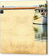 Relentless On The Water Canvas Print