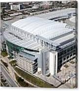 Reliant Stadium In Houston Canvas Print