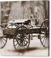 Relic of a Time Gone By Canvas Print