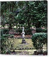 Religion In The Garden Canvas Print