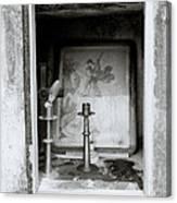 Religious Window Canvas Print