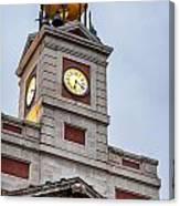 Reloj De Gobernacion 2 Canvas Print