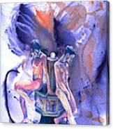 Reluctant Grace Canvas Print