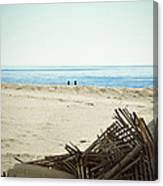 Remains Of Hurricane Sandy Canvas Print