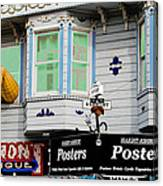 Remembering Haight Ashbury Canvas Print