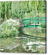 Remembering Monet  Canvas Print
