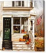 Remembering When- Porches Art Canvas Print