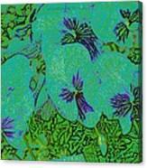 Remembrance Flowers Canvas Print