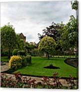 Remembrance Park - In Bakewell Town Peak District - England Canvas Print