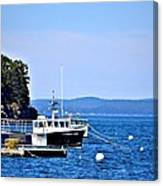 Remington Lobster Boat Canvas Print