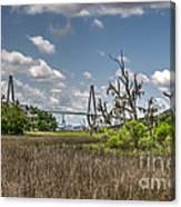 Remleys Point Bridge View Canvas Print
