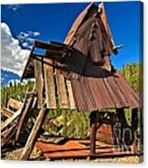Remnants Of The Colorado Gold Rush Canvas Print