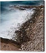 Remote Beach Scene Canvas Print
