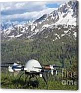 Remote Controlled Helicopter Canvas Print