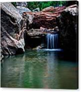 Remote Falls Canvas Print
