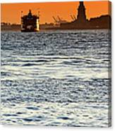 Remote Lady Liberty Canvas Print