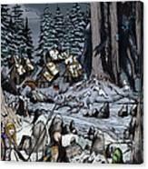 Remote Village Canvas Print