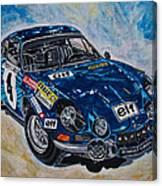 Renault Alpine Canvas Print