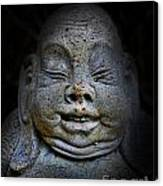 Qieci The Fat Budai - Fat Buddha Canvas Print