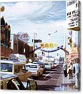 Reno At Mid Century Canvas Print