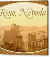 Reno Nevada  Canvas Print