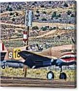 Reno Races 3 Canvas Print