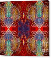 Repeating Realities Abstract Pattern Artwork By Omaste Witkowski Canvas Print