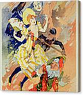 Reproduction Of A Poster Canvas Print