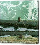 Repurposed Needham History Canvas Print