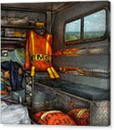 Rescue - Emergency Squad  Canvas Print