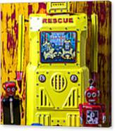 Rescue Robot Canvas Print