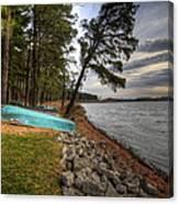 Reservoir Shoreline Canvas Print