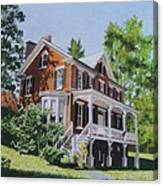 Residence In Sussex County Canvas Print
