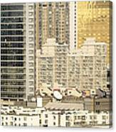 Residential High Rises In Beijing China Canvas Print